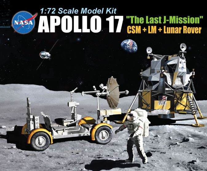 "Apollo 17 ""The Last Mission"" - CSM + LM + Lunar Rover"