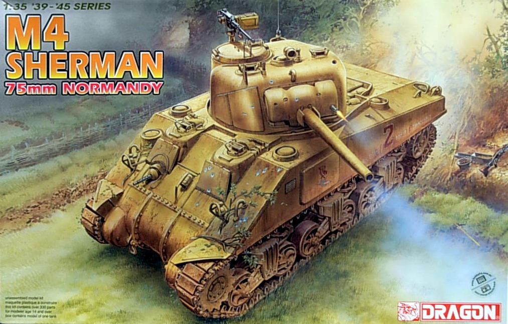 M4 Sherman 75mm Normandy