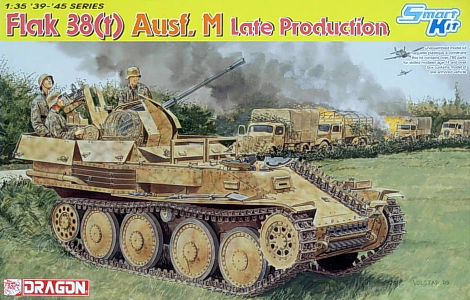 Flak 38 (t) Ausf M ~ Late Production
