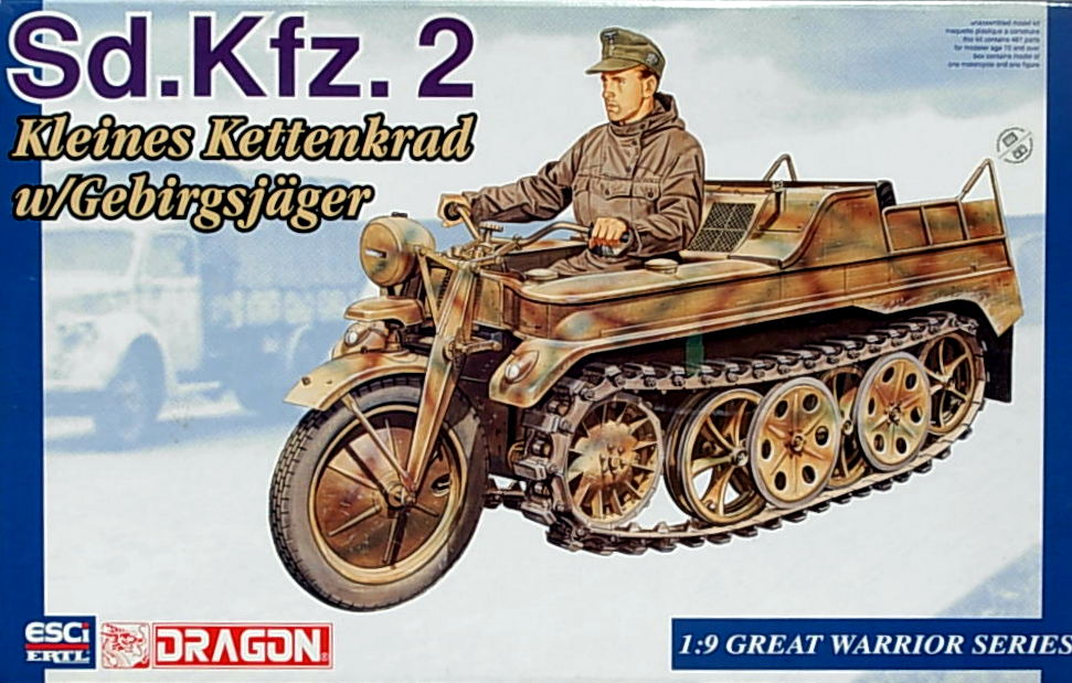 Kettenkrad with Figure