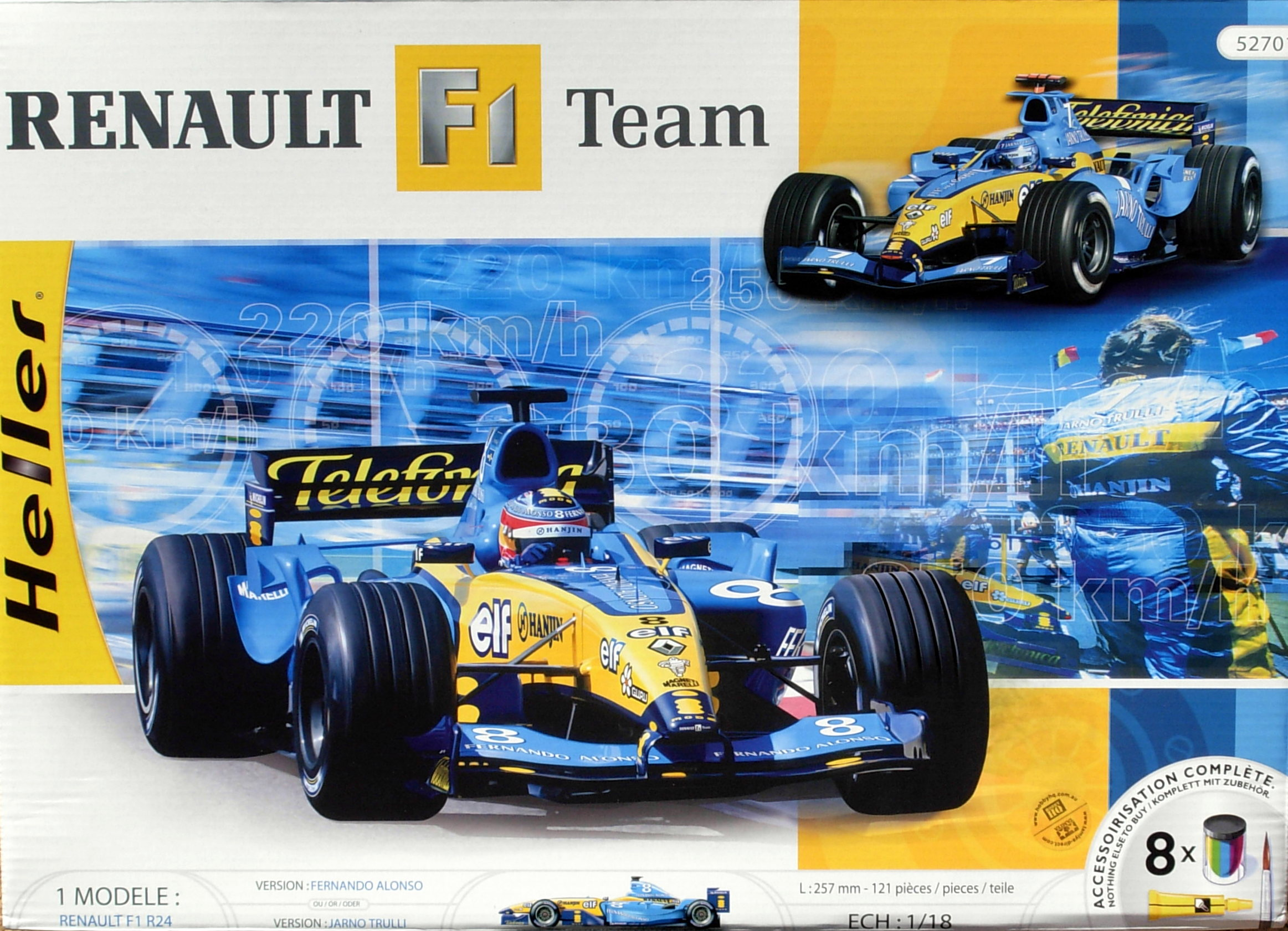 Renault F-1 R-24 Team -Gift Set