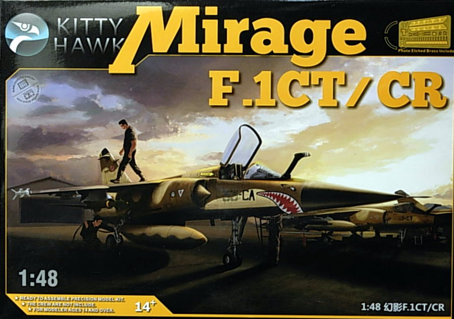 Mirage F.1CT/CR