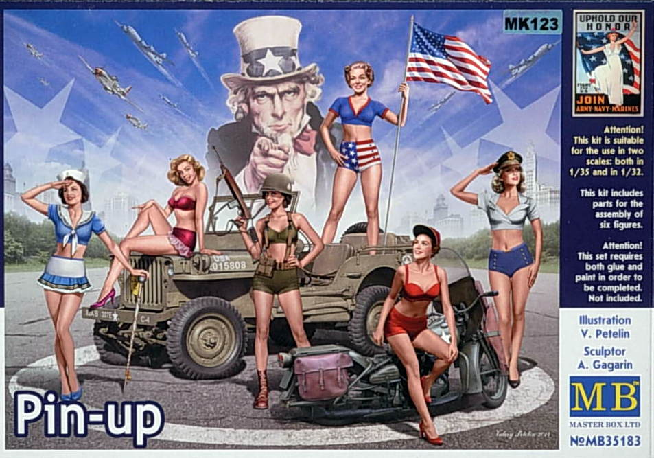 """Pin-up"" girls of WW II"