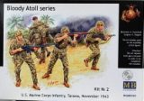 """Bloody Atoll series. Kit No 2"", US Marine Corps Infantry, Taraw"