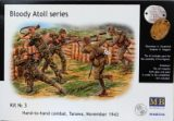 """Bloody Atoll series. Kit No 3"", Hand-to-hand combat, Tarawa, No"