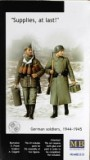 """Supplies, at last! German soldiers, 1944-1945"""