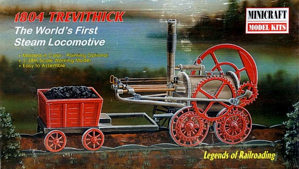 Trevithick Steam Engine