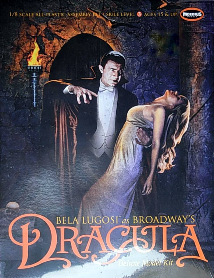 Bela Lugosi- Dracula & Female Victim. Deluxe Model