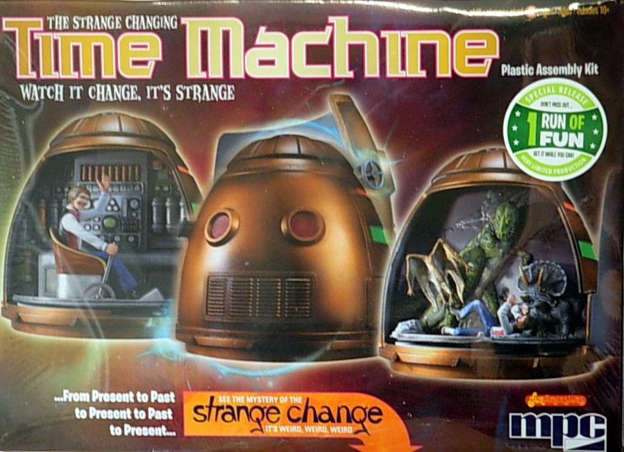 STRANGE CHANGE TIME MACHINE-