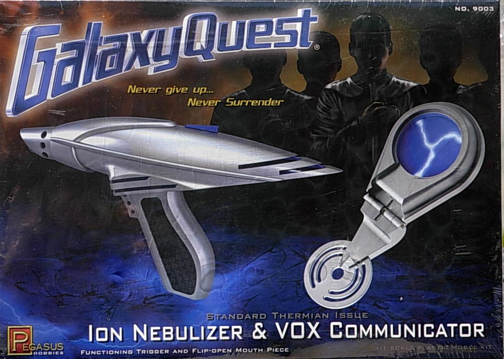 Galaxy Quest- Ion Nebulizer & Vox Communicator Kit