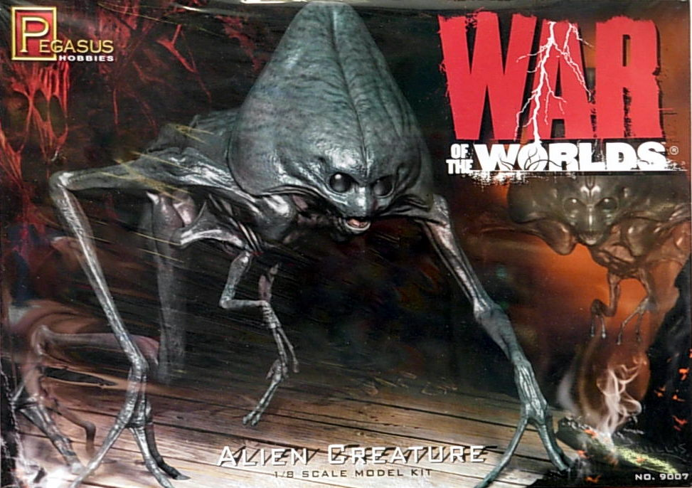 2005. War of the Worlds Alien Figure