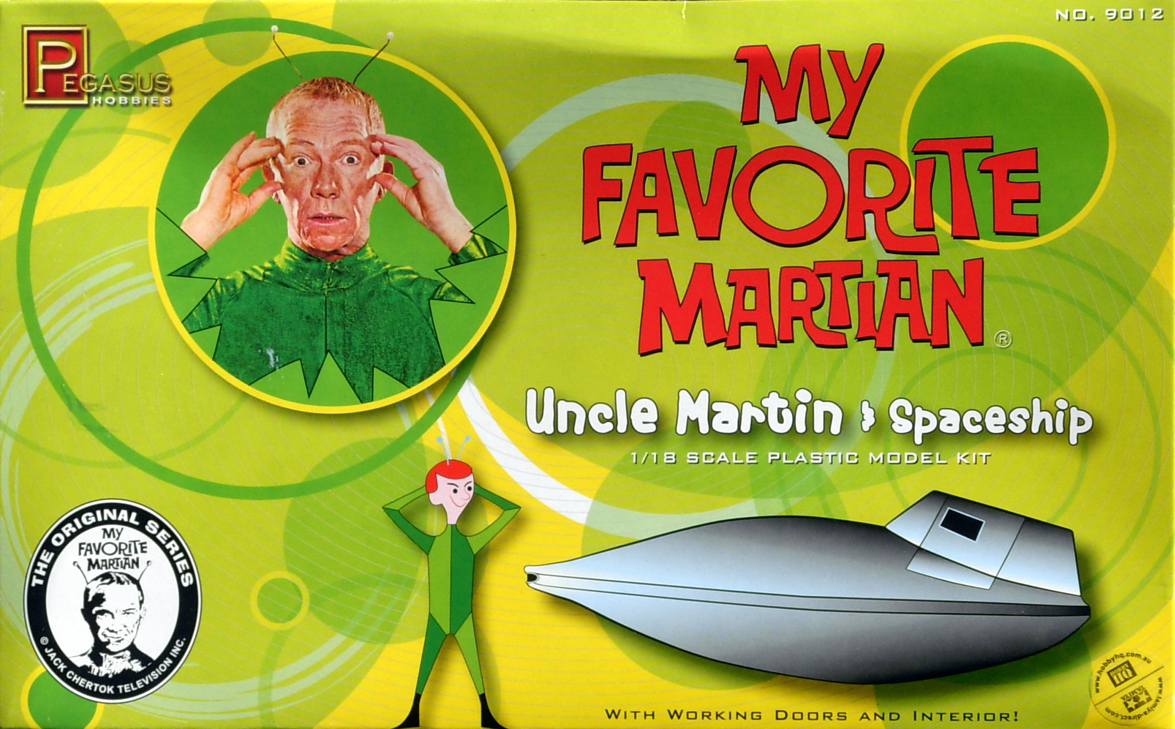 My Favorite Martian Spaceship with figure