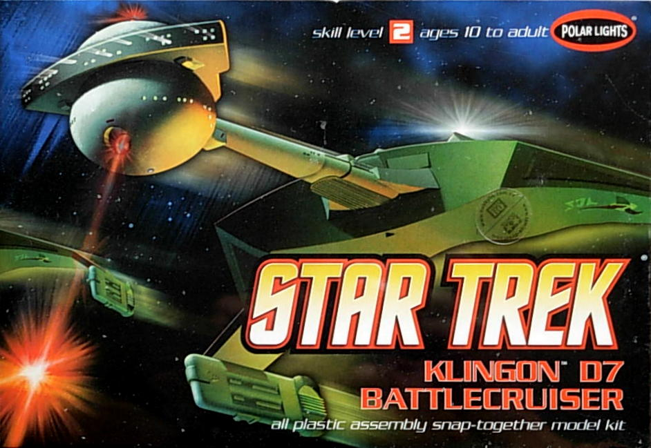 Klingon™ D7 Battlecruiser-25cm long