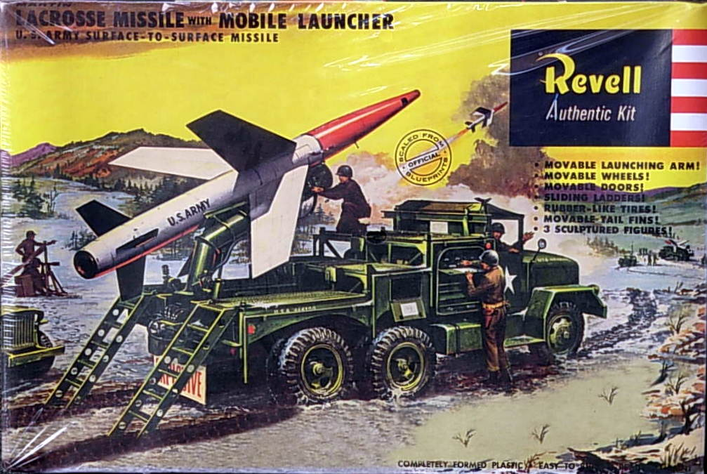 La Cross Missile with Launcher