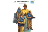 LCM Landing Craft crew- 3 figs