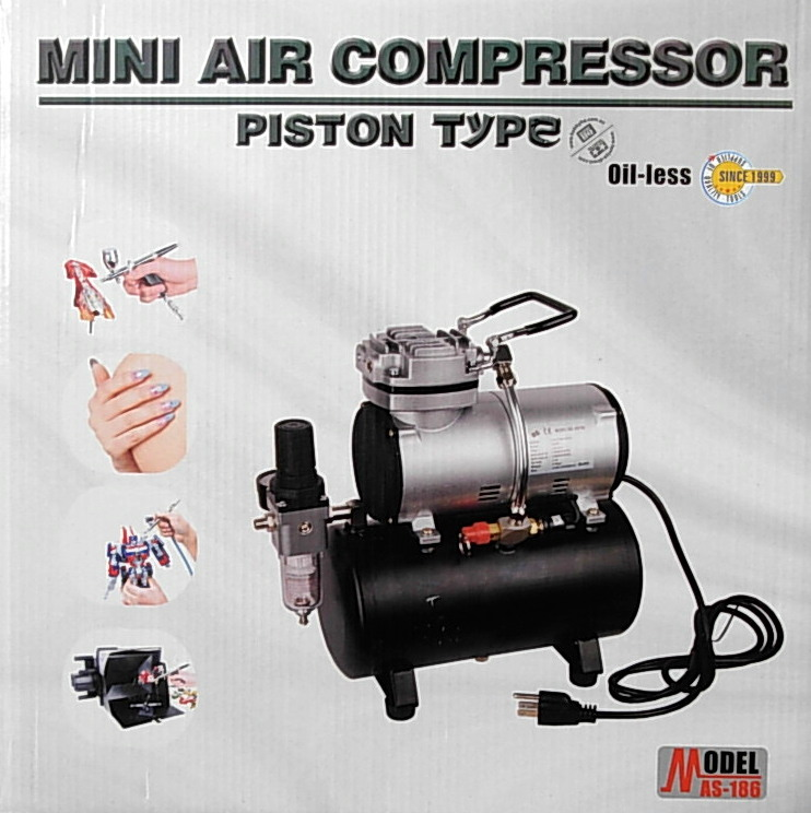 Compressor ~ w/2.5 lt tank ~ auto cut-off ~ +
