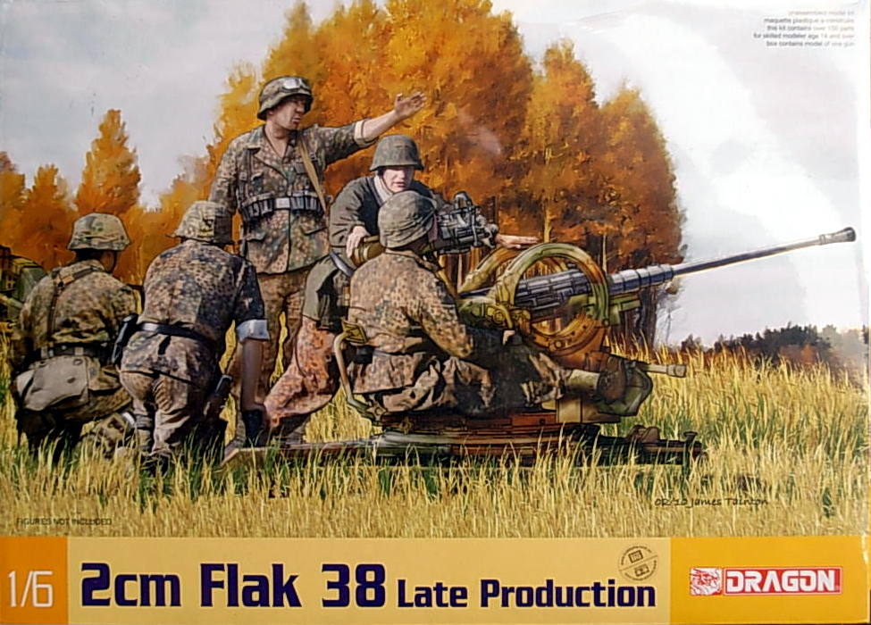 2cm Flak 38, Late Production