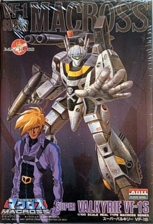 Super Valkyrie VF-1S with figure
